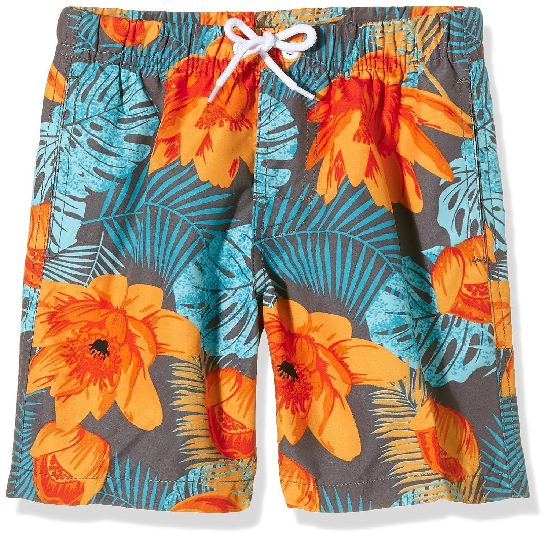 Miami Beach Swimwear Jungen Badeshorts mit Blumen-Print Luxor BV AM62112805