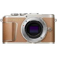 """Olympus PEN E-PL9 Fotocamera Compatta, 16 Megapixel, Zoom Elettrico, Filmati 4K, Schermo da 7.6 cm (3""""), Wi-Fi, Marrone"""
