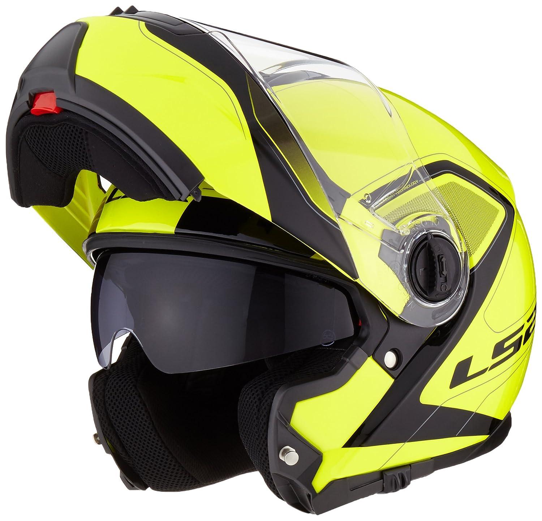 Pioneer LS2/helmet moto mx436 XXL Matt Black