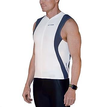 White Orca 226 Men/'s Tri Pocket Singlet Regular $110 all sizes available NEW