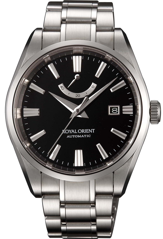 [オリエント]ORIENT 腕時計 ROYAL ORIENT ロイヤルオリエント スタンダード 機械式時計 ブラック WE0031EK メンズ B00KS1D51C