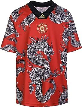 adidas Manchester United FC Dragon Niño, Camiseta, Team Red, Talla 176 [cm]: Amazon.es: Deportes y aire libre
