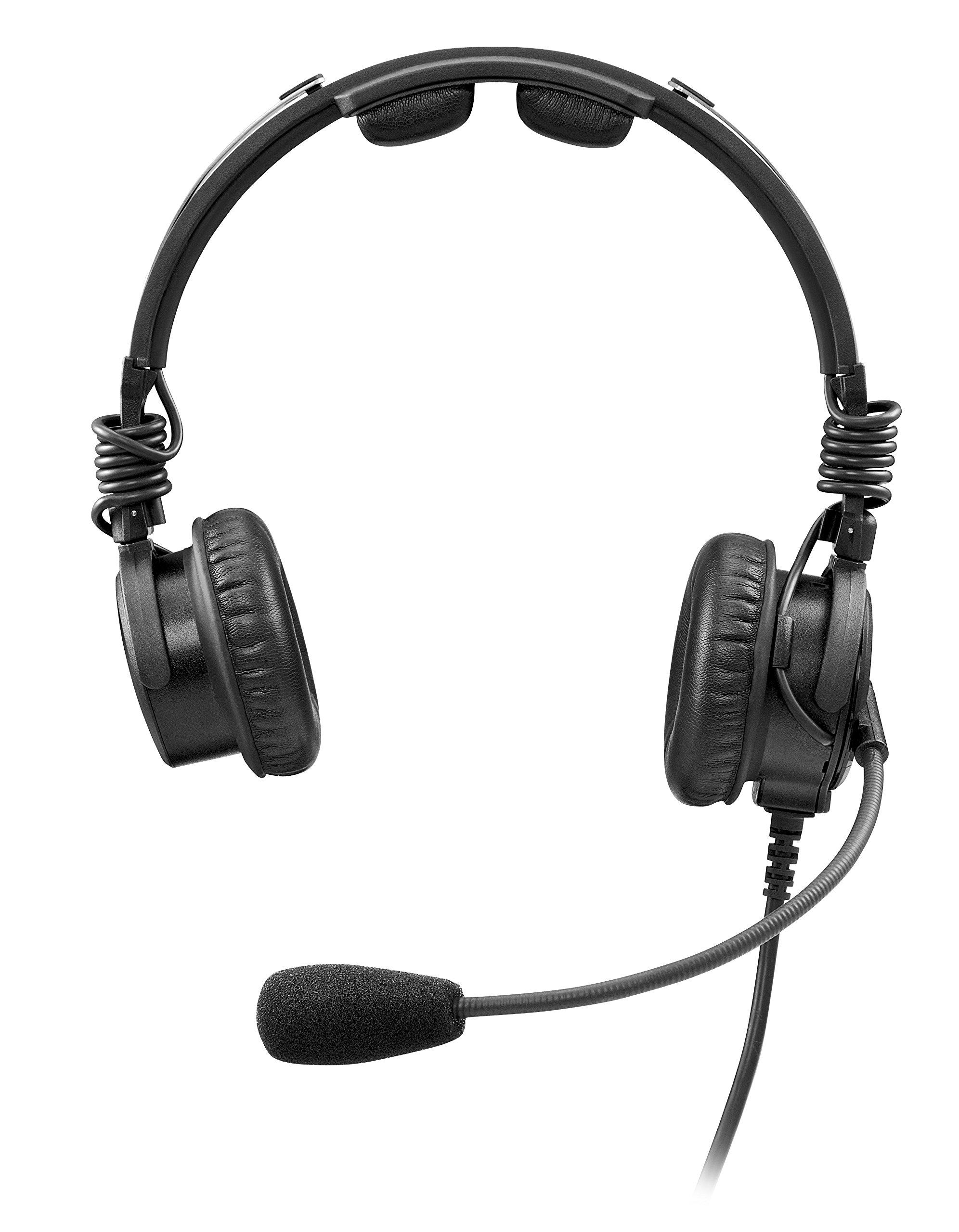 Telex Airman 8 ANR Headset - Dual GA Plugs