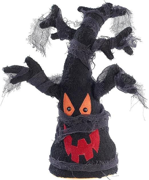 Infactory Halloweendeko Singender Und Tanzender Geisterbaum Kabal Batteriebetrieben Gruselige Halloween Deko Amazon De Kuche Haushalt