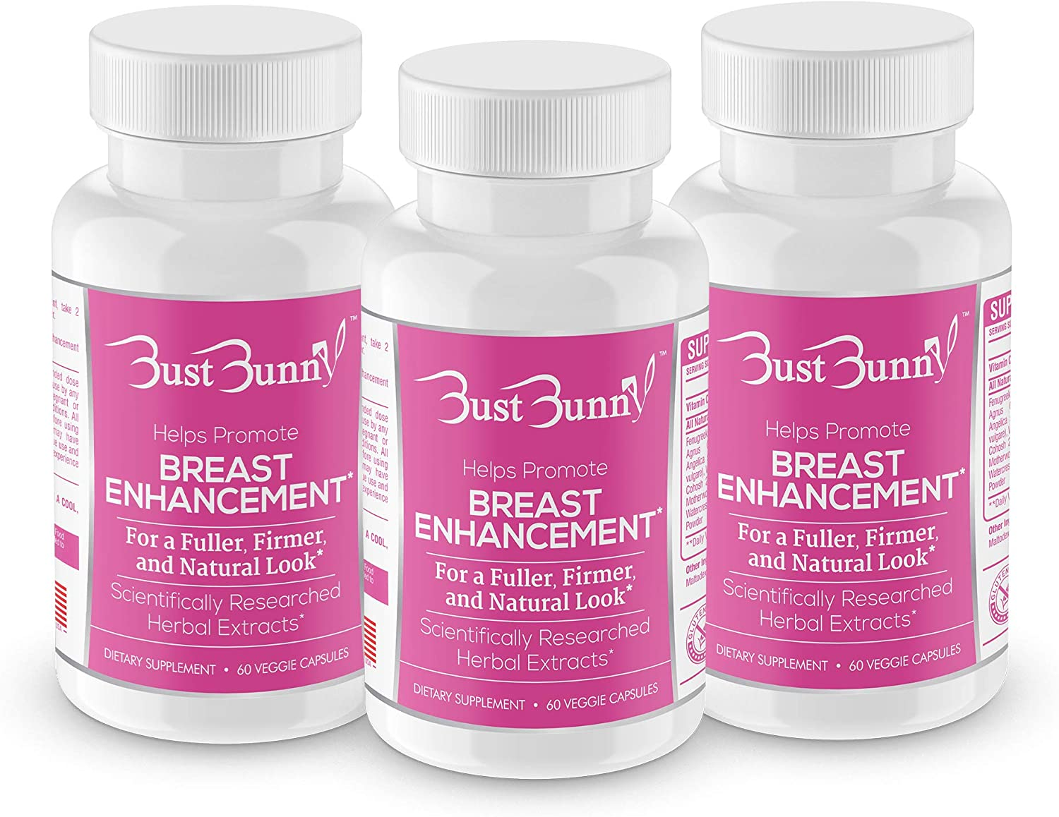 Amazon Com Breast Enhancement Pills Vegan Friendly 3 Month