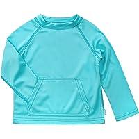 i play..... Breatheasy Sun Protección Camisa, Color Azul, Talla Small/Medium/6-12Months