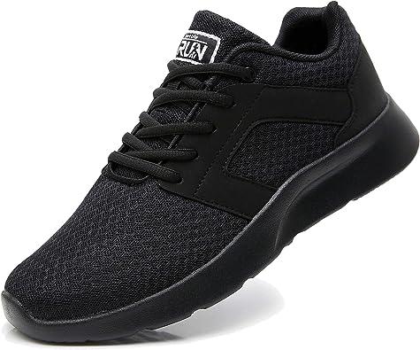Uricoo Zapatillas Running Hombre Mujer Zapatos Deporte para Correr Trail Fitness Sneakers Ligero Transpirable 34-46: Amazon.es: Zapatos y complementos