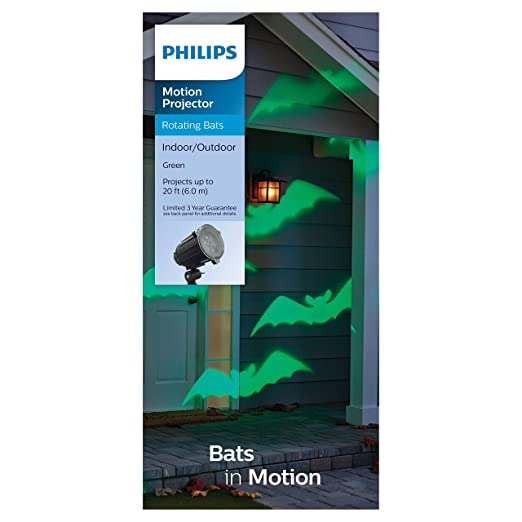 Amazon.com: Philips Motion – Proyector de murciélagos de ...