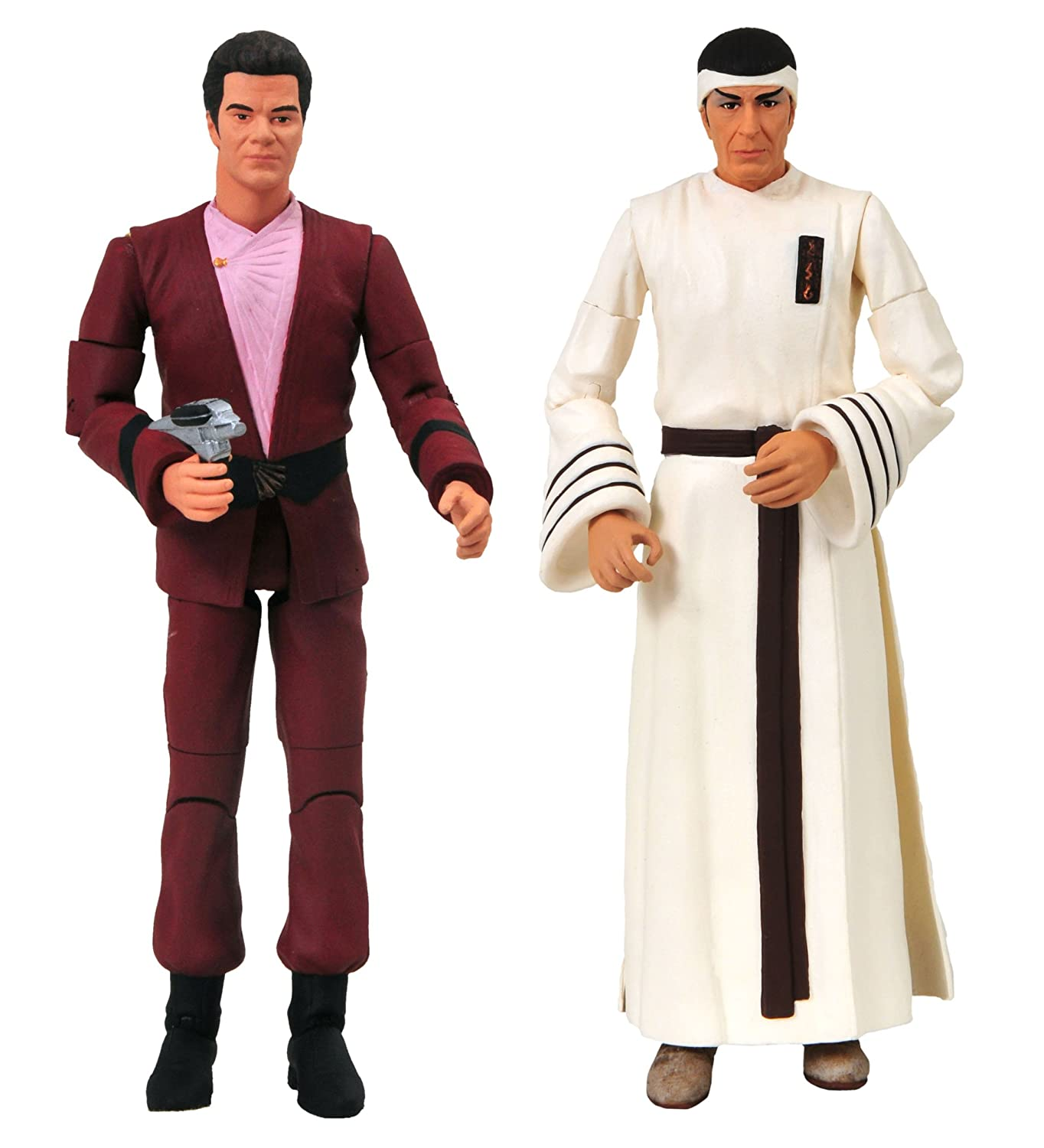 DIAMOND SELECT TOYS Star Trek IV: The Voyage Home: Kirk and Spock 2-Pack