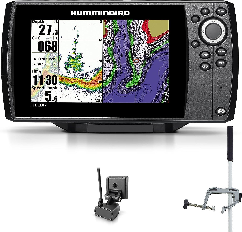 Humminbird Helix 7 Sonar GPS Echolot Seekarten Plotter Combo Portabel Master: Amazon.es: Deportes y aire libre