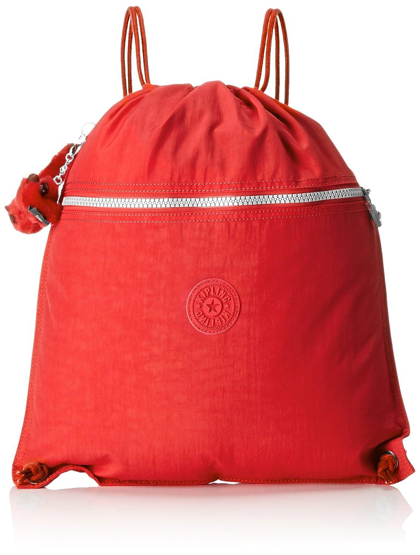 Kipling Supertaboo Gym Bag 15 Litre, Poppy Red