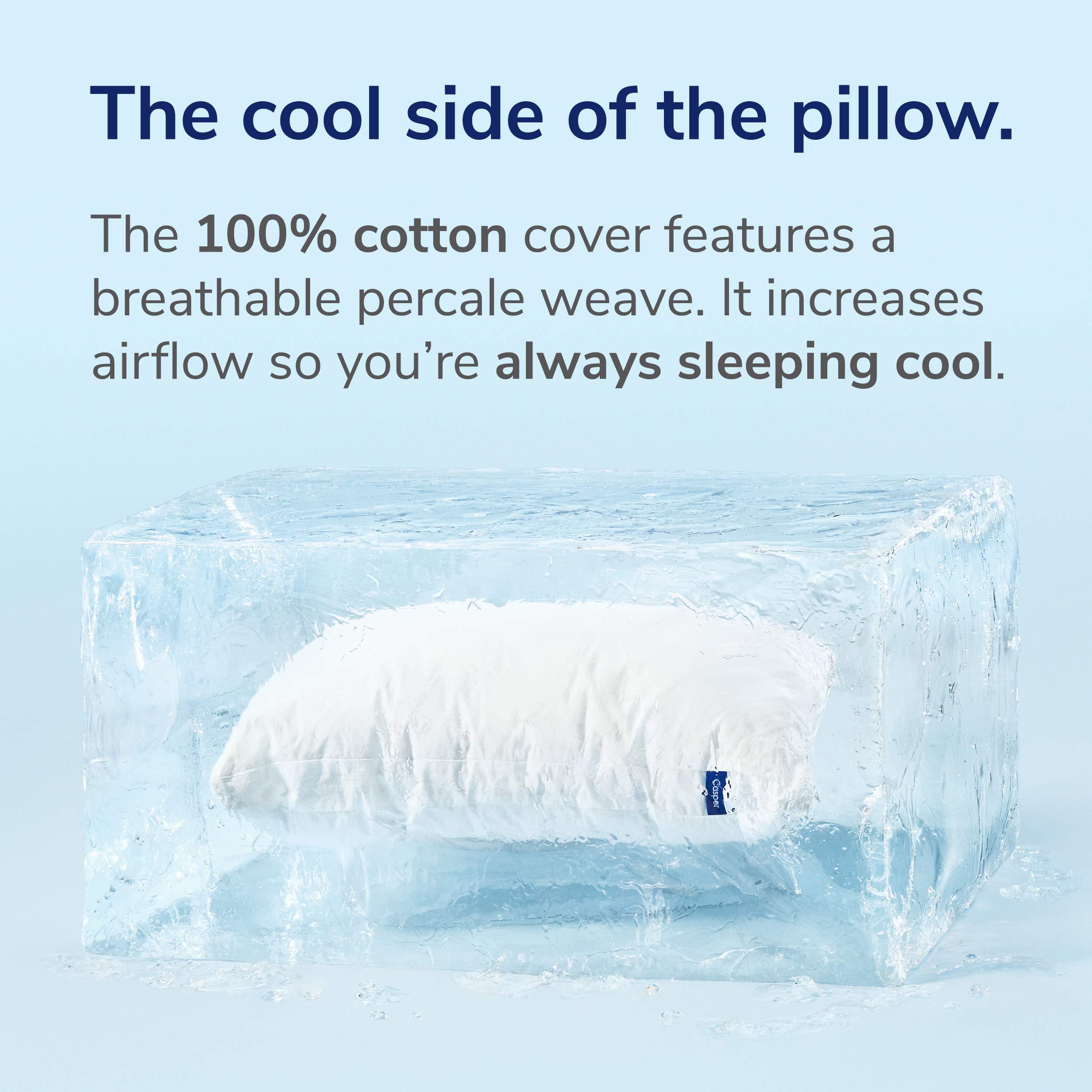 Casper Pillow for Sleeping, Standard, White by Casper Sleep (Image #5)