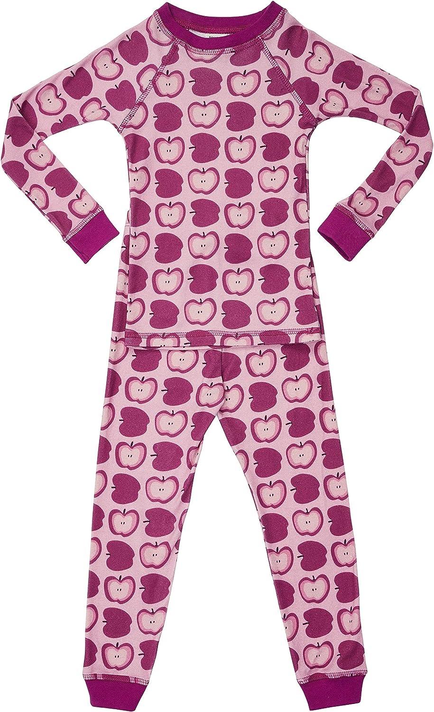 Brian the Pekingese Girls Sleepwear 100/% Organic Cotton Pajamas Made in USA Sizes 18m to 10 Years
