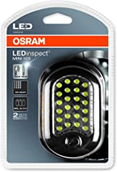 rechargeable LED inspection light 1 unit LEDIL105 OSRAM LEDinspect PRO PENLIGHT 150 specifically for working on vehicles in your garage folding carton box