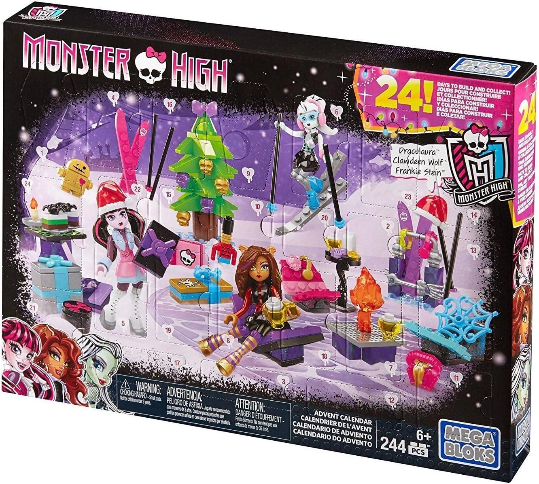 Amazon.com: Mega Bloks Monster High Advent Calendar: Toys & Games