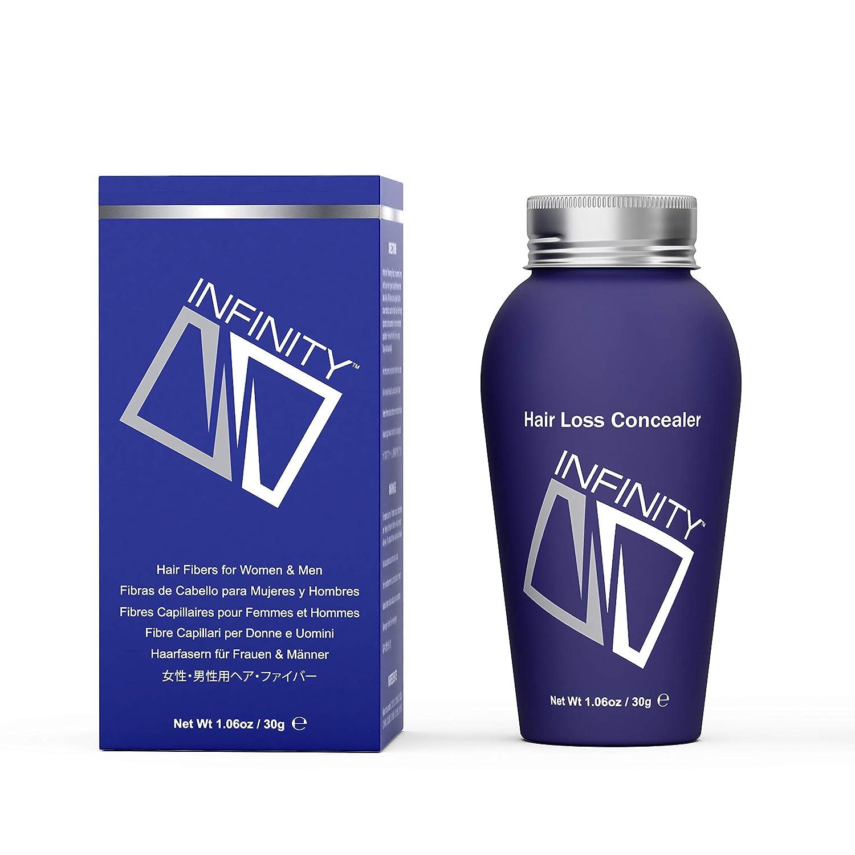 Infinity Hair Fiber - Hair Loss Concealer - Hair Thickening Fiber for Men & Women – White,30g