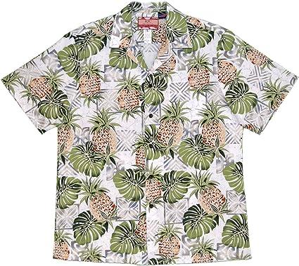RJC Men's Pineapple Monstera Hawaiian Shirt