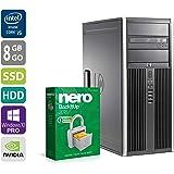 PC Gamer Multimédia Unité centrale - HP Elite 8200 - Nvidia Geforce GTX1050 - Core i5-2400 @3,1GHz - 8Go DDR3RAM - 240Go SSD - 1To HDD-Lecteur DVD-Win 10 PR-Garantie 1an - (Reconditionné Certifié)