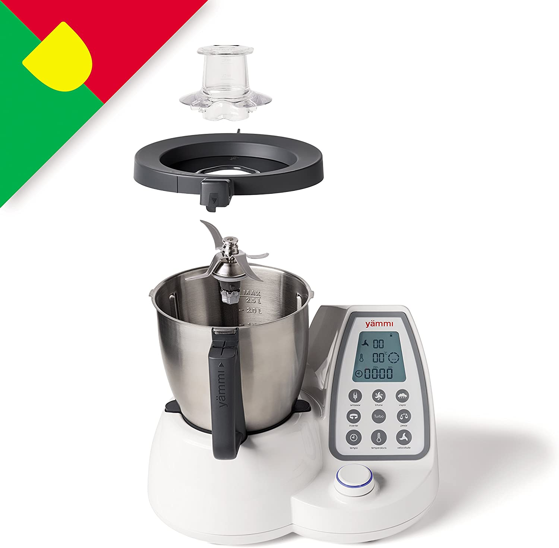 yämmi Robot de cocina multifunción, Capacidad de 2.5L, 11 ...