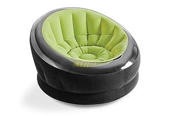 Amazoncom Intex Empire Inflatable Chair 44 X 43 X 27 Green