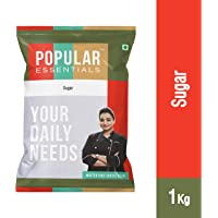 Popular Essentials Refined Sugar Pouch, 1 kg
