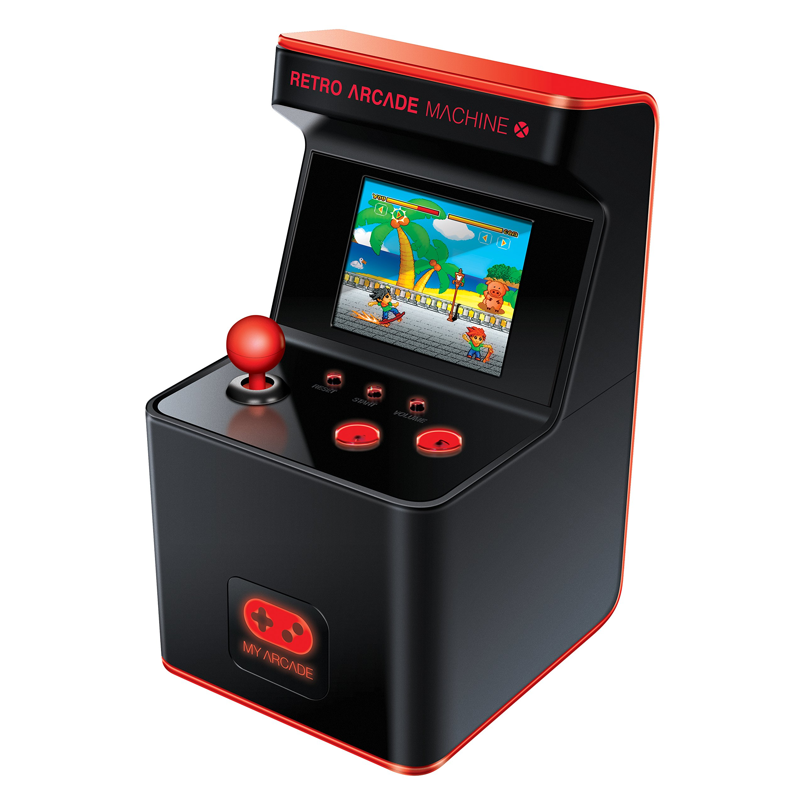 My Arcade - Retro Arcade Machine X Portable Gaming Mini Arcade Cabinet with 300 Built-in Hi-res 16 bit Games