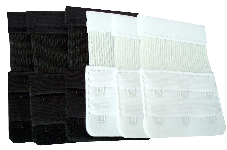 Medipaq Cinturino Estensore Reggiseno x6 – 3 GANCI – Non buttare via quel REGGISENO Stretto! …