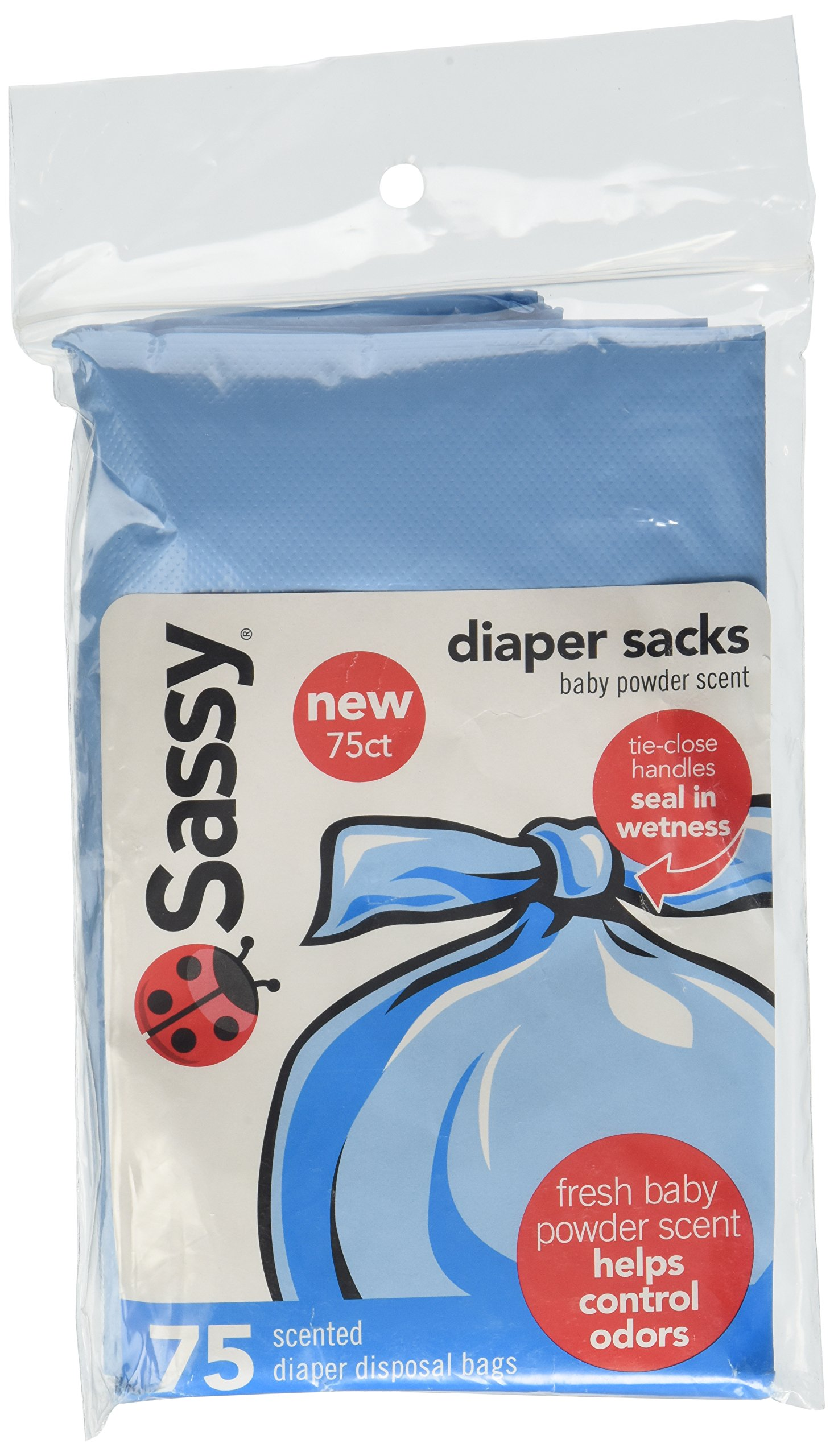 Sassy Disposable Scented Diaper Sacks, 75 Count by Sassy