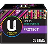 U BY KOTEX Liners U by Kotex Designer Protect Liners (Pack of 30), Pack of 30 0.111 kilograms