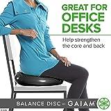 Gaiam Balance Disc Wobble Cushion Stability Core