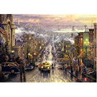 [Puzzle Life] San Francisco | 1000 Piece - Large Format Jigsaw Puzzle. Can be Enjoyed Puzzle Game by All Generation…
