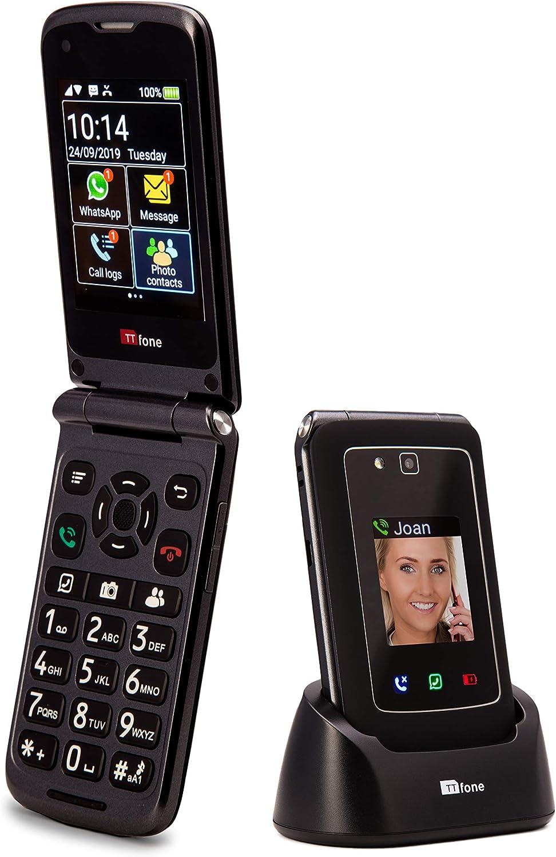 TTfone Titan TT950 Whatsapp 3G Pantalla táctil Senior Big Button ...