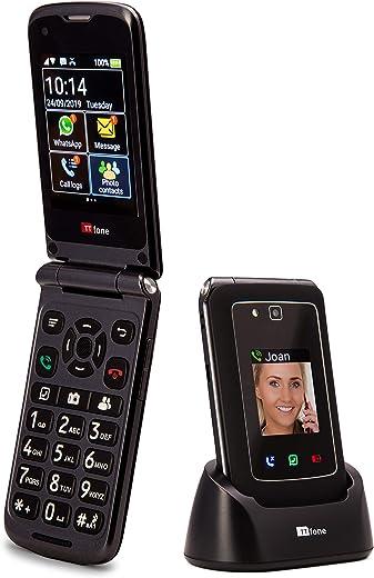 TTfone Titan TT950 Whatsapp 3G Touchscreen Senior Pulsante grande Flip Cellulare - Facile e semplice da usare