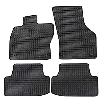 PREMIUM Antirutsch Gummi-Kofferraumwanne für SEAT LEON ab 2013 hohes Rand