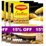Maggi Chicken with Corn Soup Sachet 47g (Pack of 3)