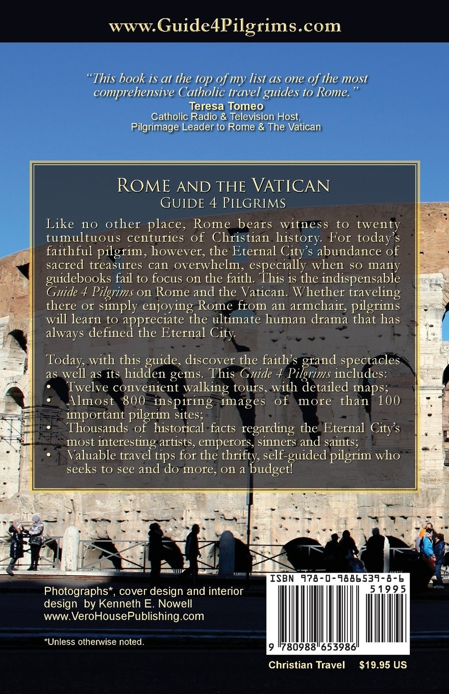 rome and the vatican guide 4 pilgrims kenneth e nowell