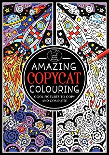 amazing copycat colouring colouring book - Pattern Colouring Books