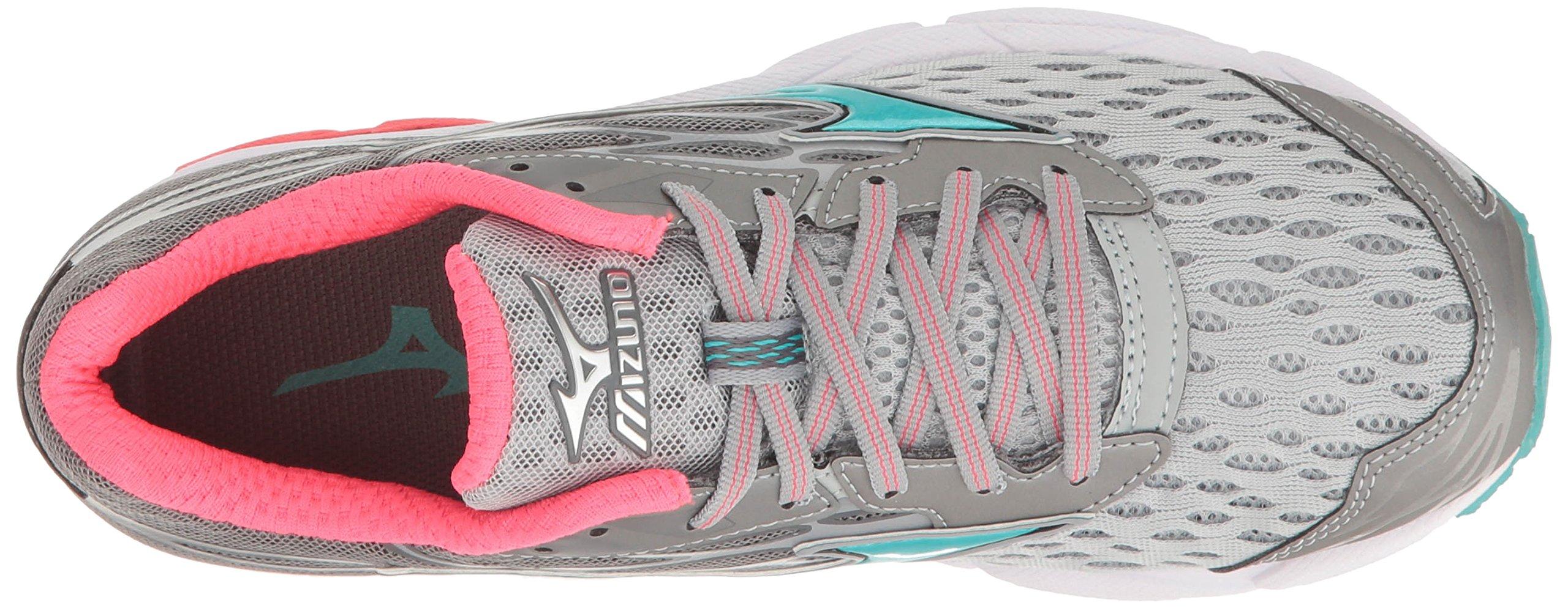 Mizuno Women's Wave Catalyst 2 Running Shoe, Grey/Mint, 9 B US by Mizuno (Image #8)