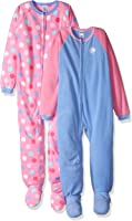 Gerber Girl's Blanket Sleepers (2 Pack)
