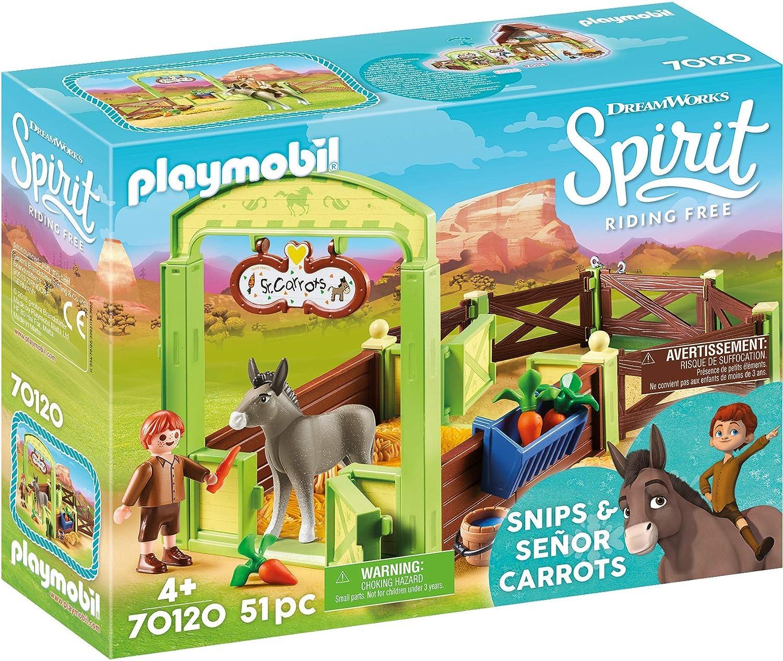 Abigail /& Boomerang /& Horse Stall NEW Playmobil Dreamworks Spirit Riding Free