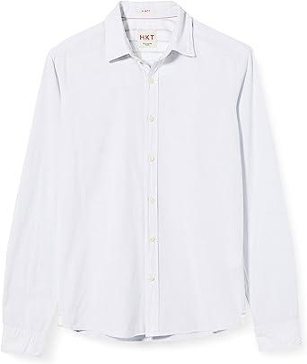 HKT by Hackett Hkt Hriz BLU Fine Str Camisa para Hombre: Amazon.es: Ropa y accesorios