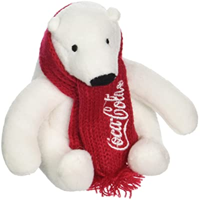 Jansen Advertising Coca-Cola Polar Bear Beanbag Plush: Toys & Games