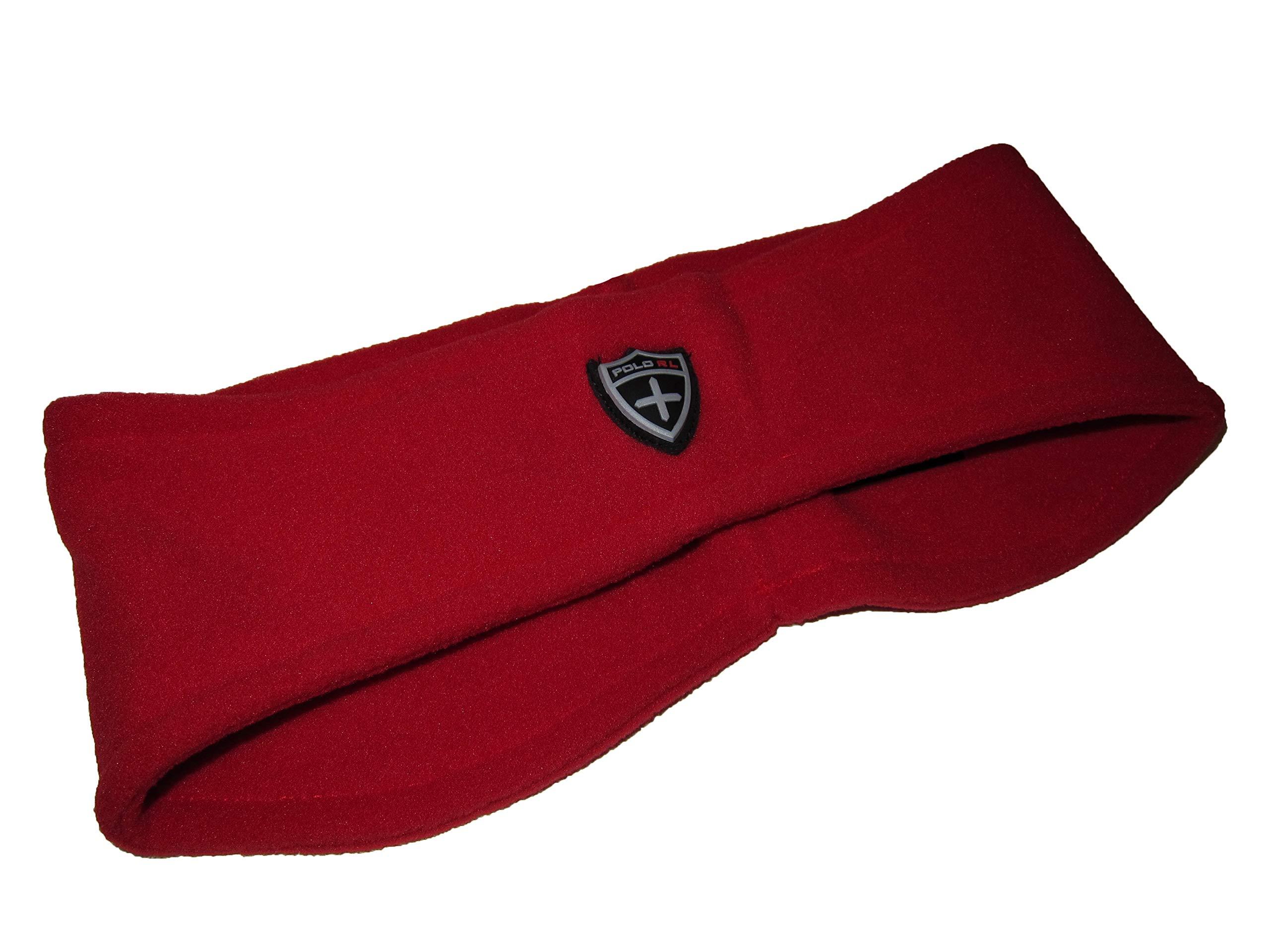 Polo Ralph Lauren Womens Polartec Fleece Cold Weather Headband (L/XL, Red) by Ralph Lauren (Image #1)