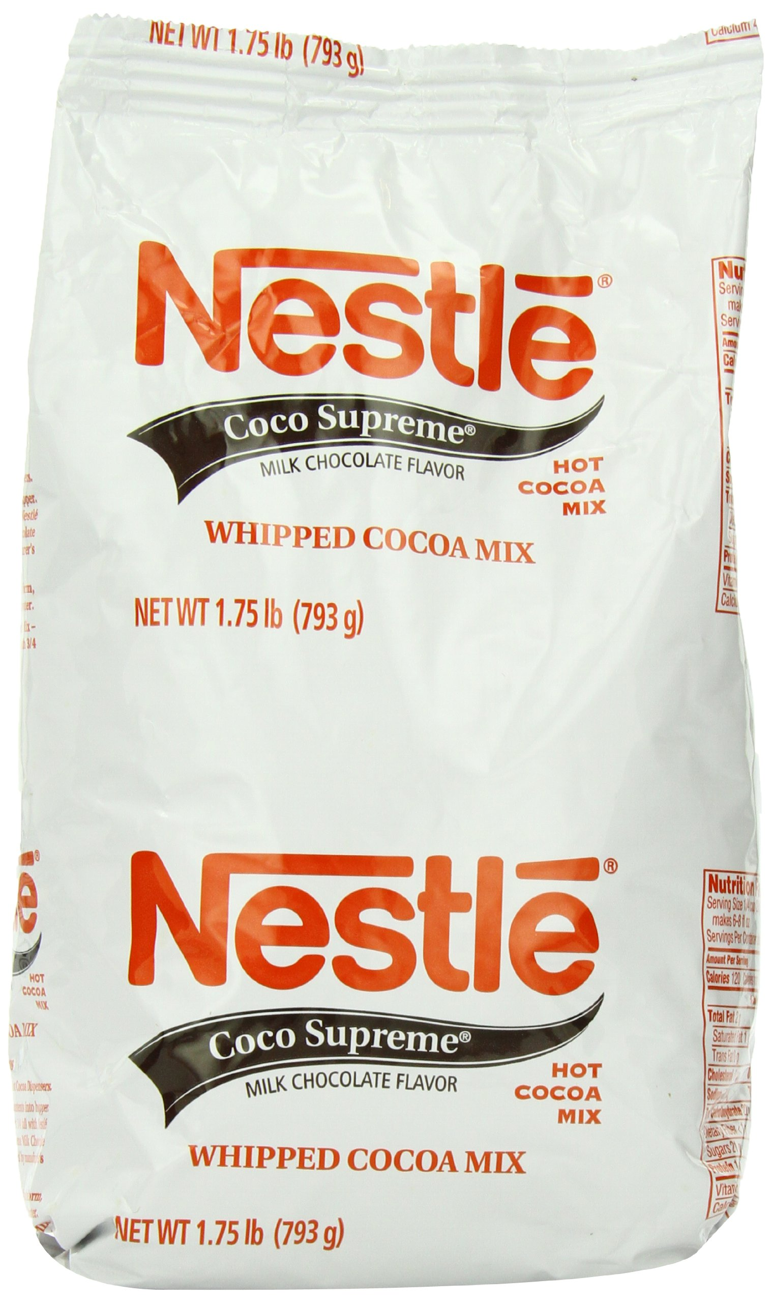 Nestle Hot Cocoa Mix, Coco Supreme, 1.75-Pound Packages (Pack of 3) by Nestle Hot Cocoa