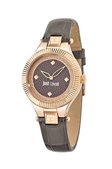 Just Cavalli Time R7251215501 - Reloj Analógico Para Mujer, color Marrón/Marrón