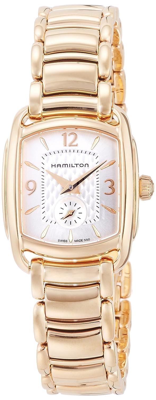 Hamilton Reloj Analogico para Mujer de Cuarzo con Correa en Acero Inoxidable H12341155