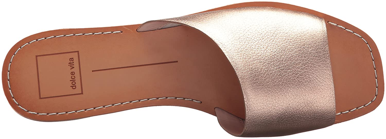 Dolce Vita Women's Cato Slide Sandal B078BQXLFY 11 M US|Rose Gold Leather