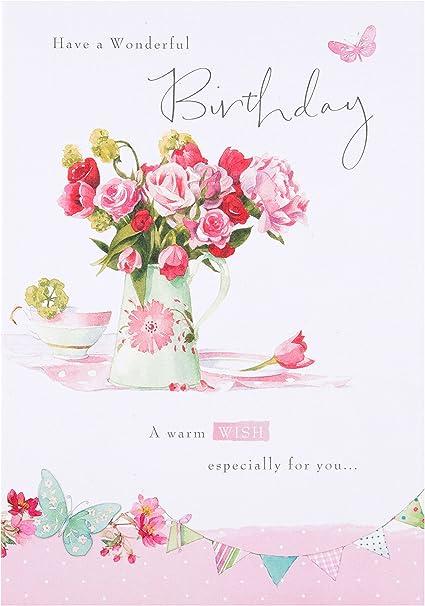 carte anniversaire femme 30 ans Hallmark Carte d'anniversaire 30 ans pour femme Fluo 3D (texte en