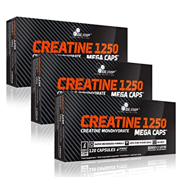 where to buy great deals buy good Olimp Creatine 1250 Mega Caps, 3 Pack 3x 120 Capsules ...
