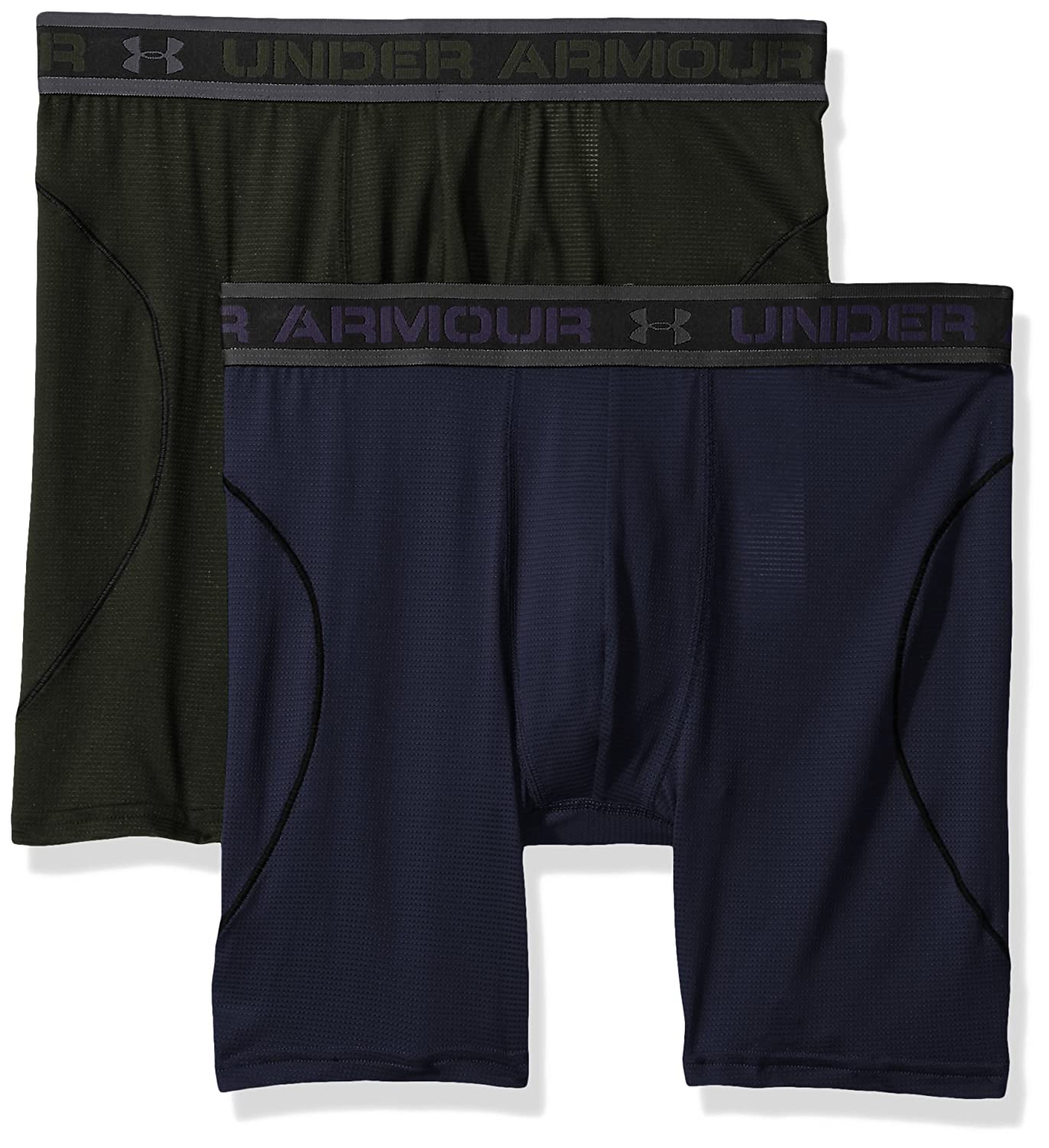 2-Pack Under Armour Apparel 1290365 Under Armour Mens Iso-Chill Mesh 6 Boxerjock
